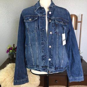 Gap Icon jacket saddle blue denim jean jacket